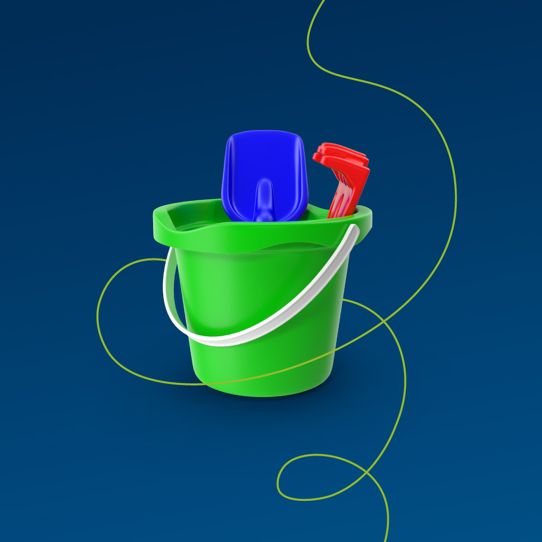 Brand line tubing graphic.
