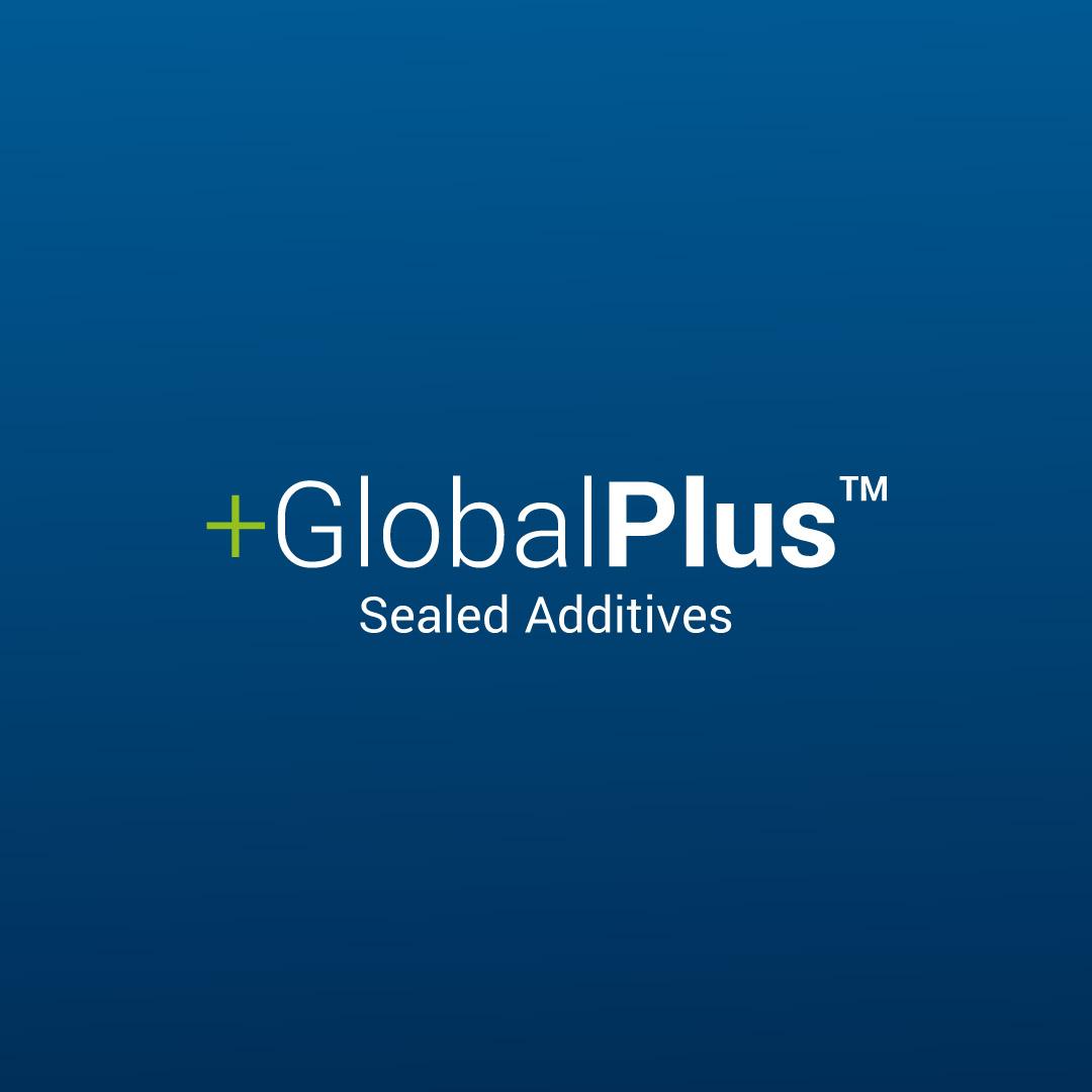 +GlobalPlus additives logo.