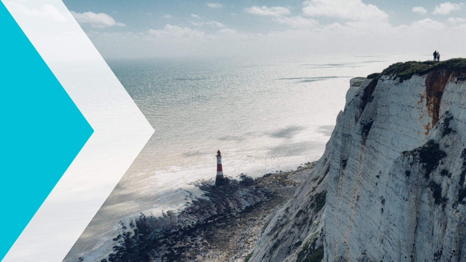 Locate East Sussex chevron graphic with an image of the lighthouse at Eastbourne.