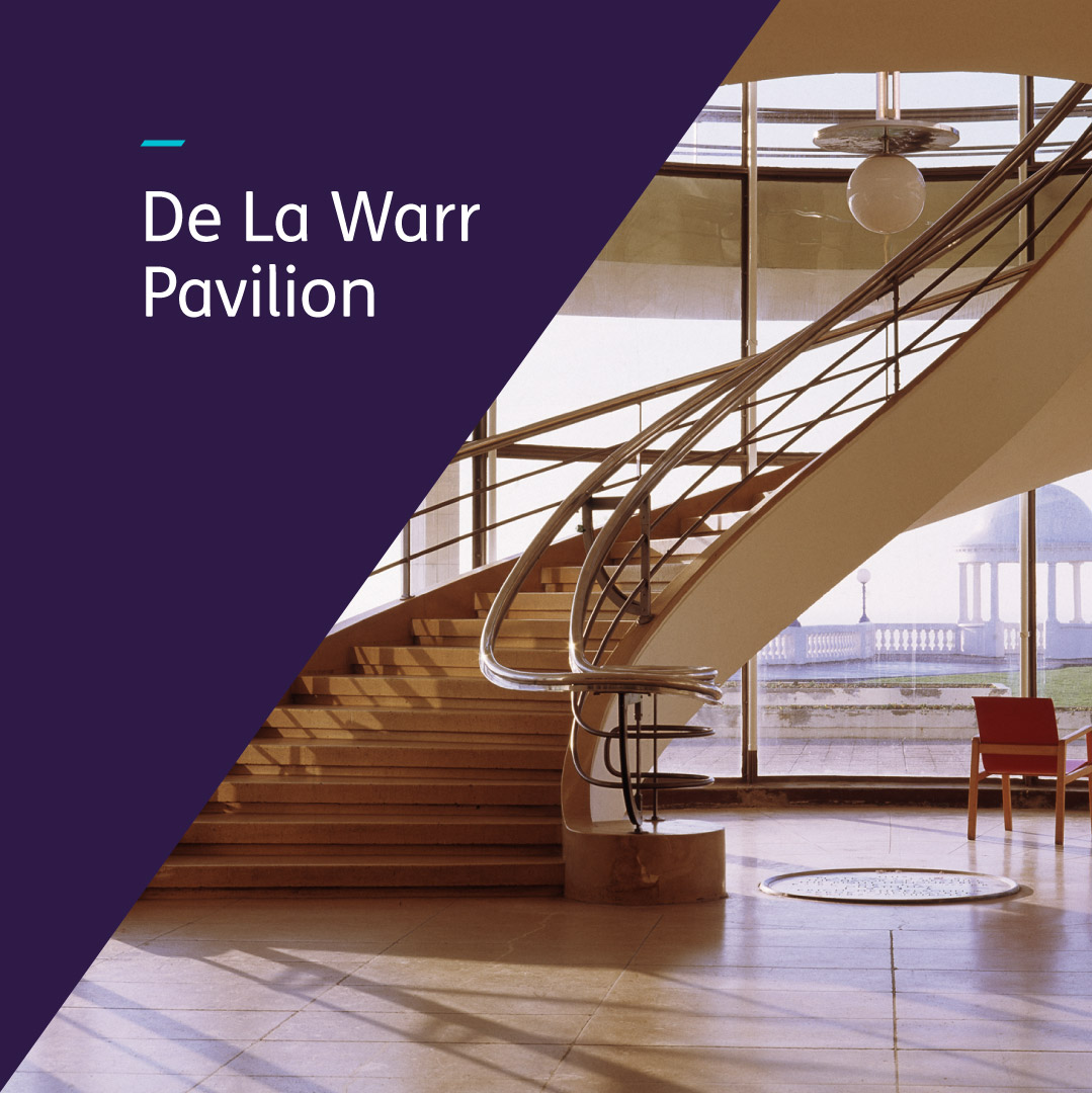 De La Warr graphic design image