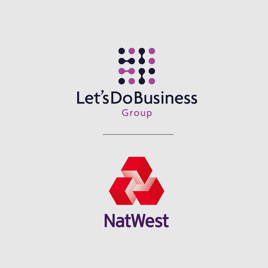 Let's Do Business Group and NatWest  logo graphic.