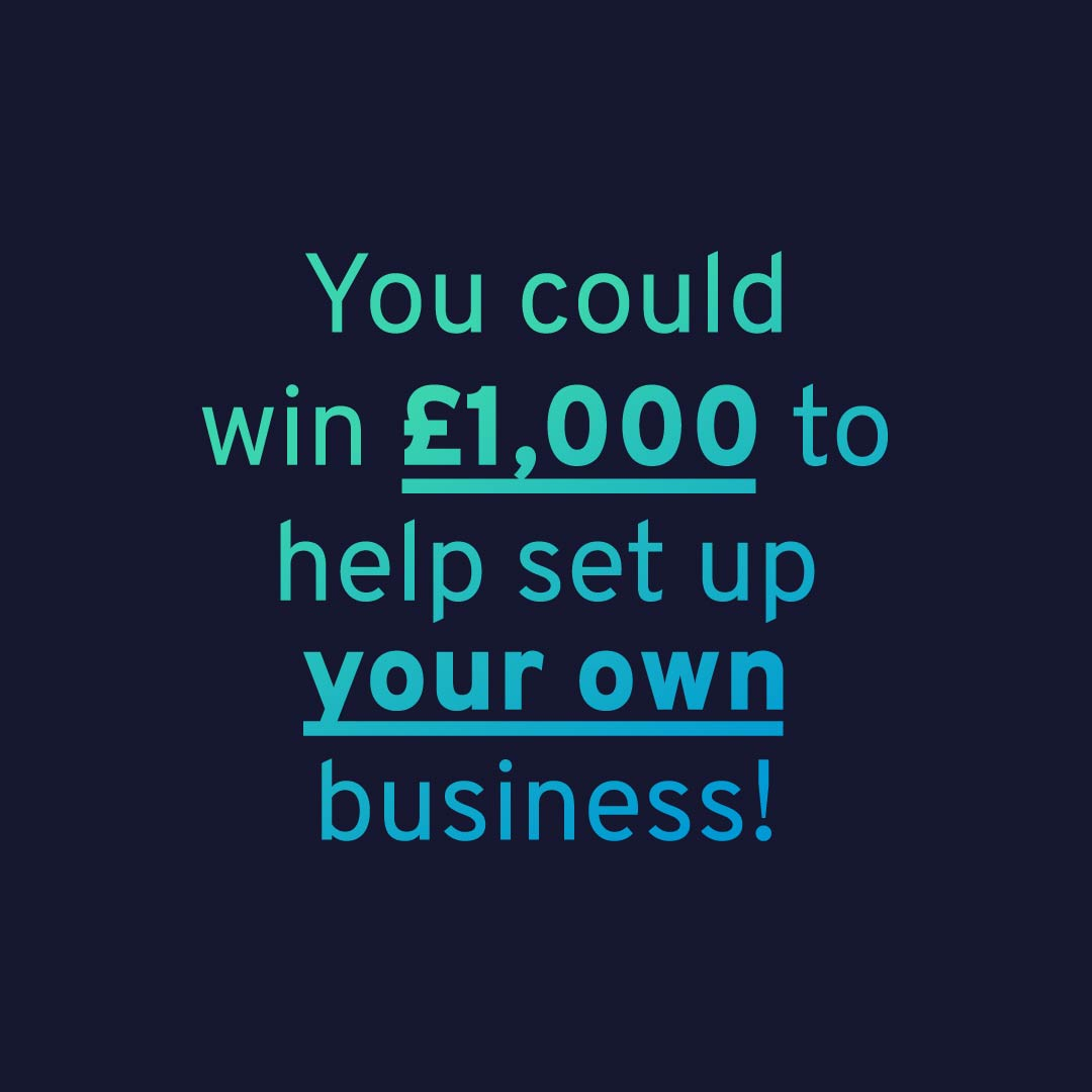 You could win £1,000 graphic.