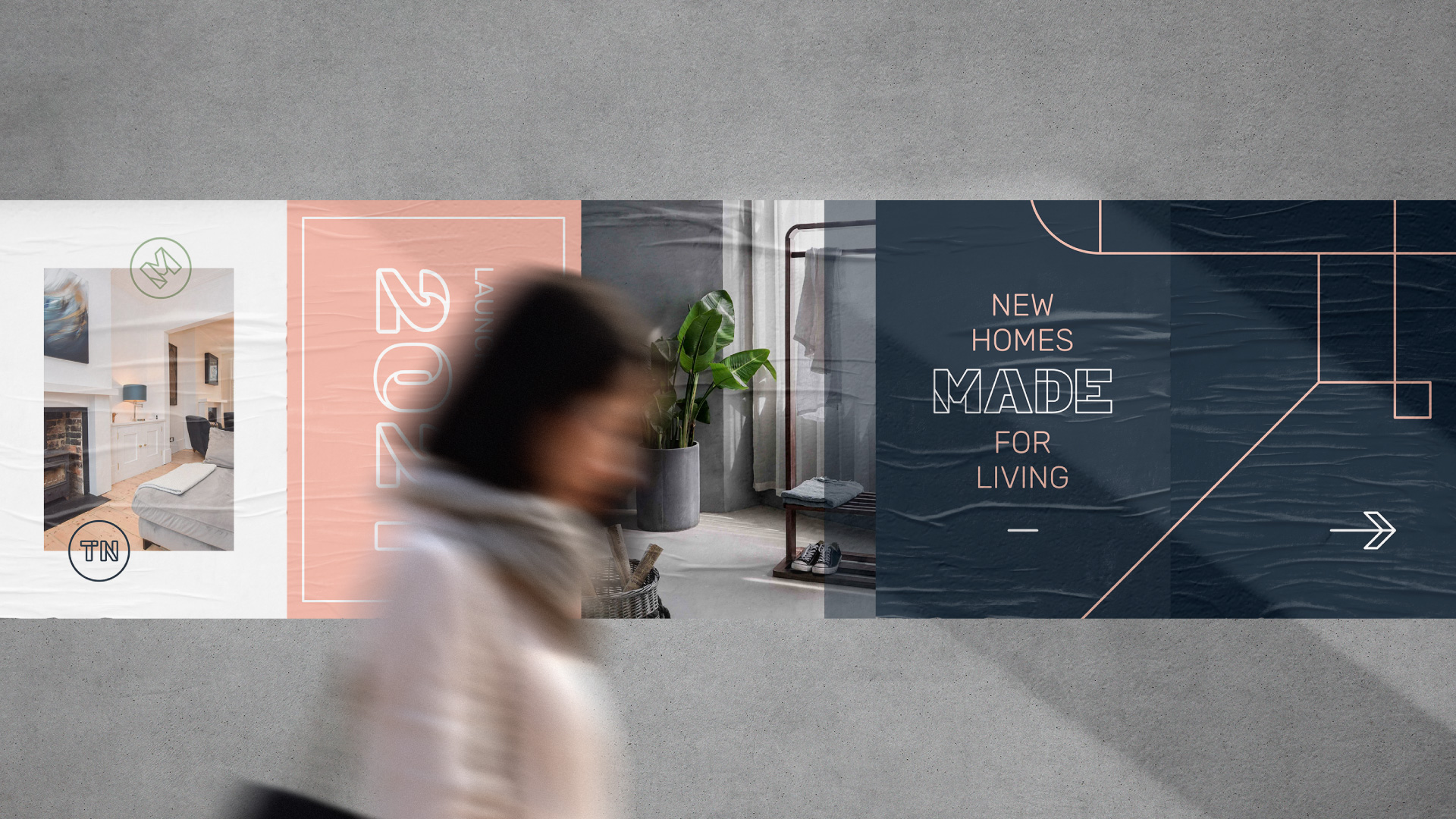 Brand and digital transformation for Made Hastings.