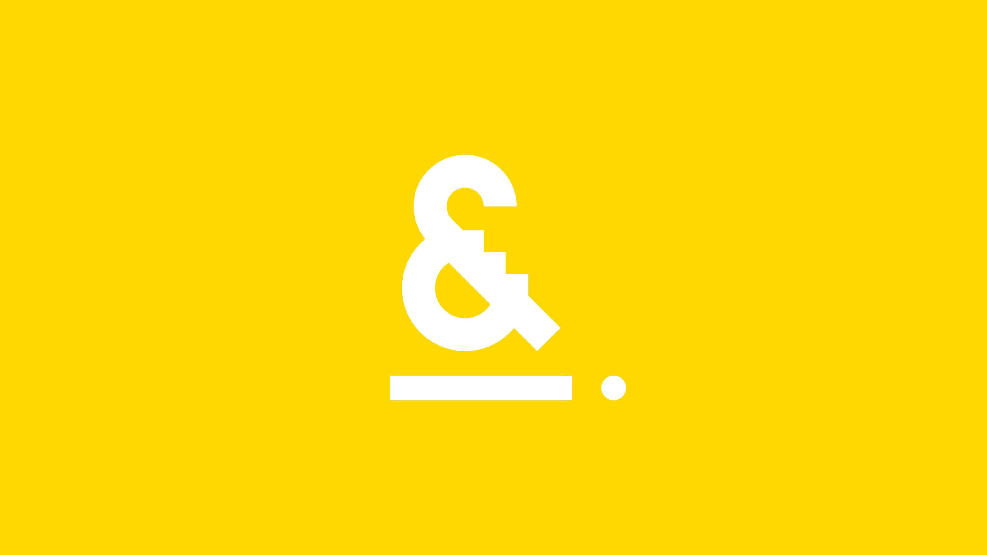 Burgess&Co. brand identity logo ampersand.