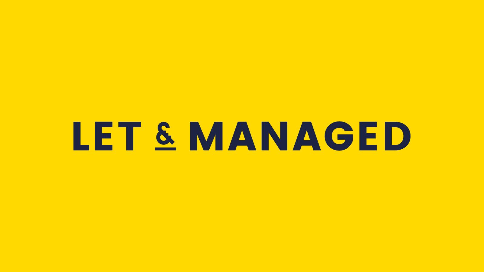 Let & managed graphic design.