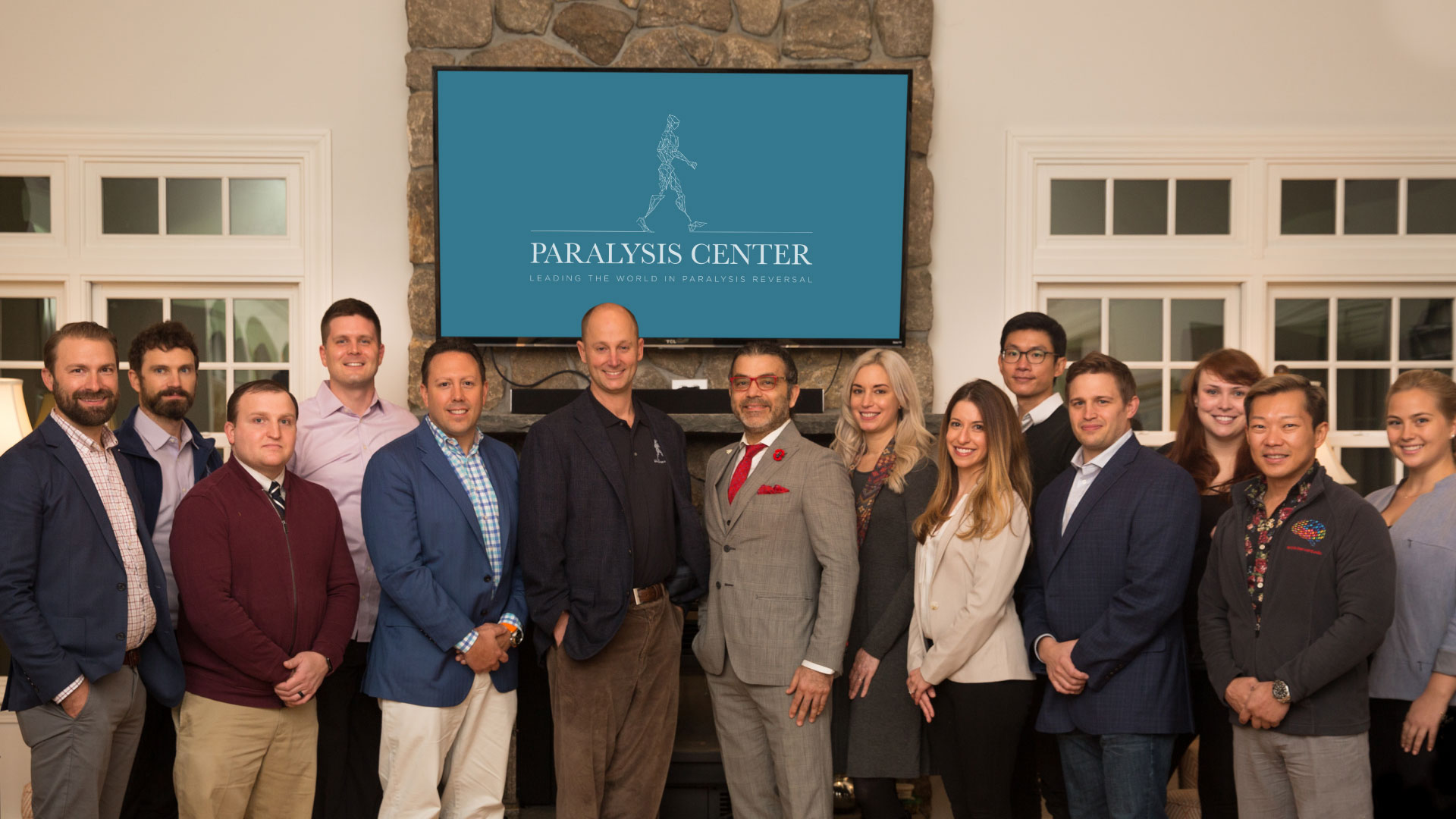 The Paralysis Center team photo. An extremely talented team of surgeons.