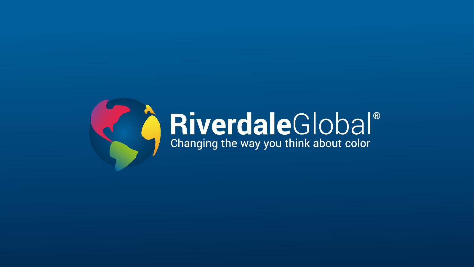 Riverdale Global branding logo design.